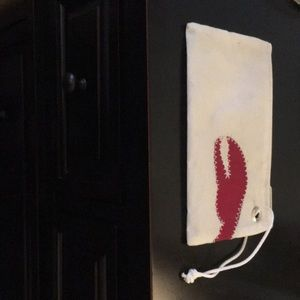 Sea bag claw wristlet